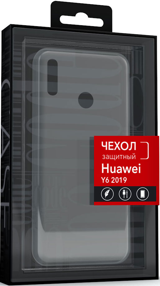 Клип-кейс Code Huawei Y6 2019 прозрачный фото