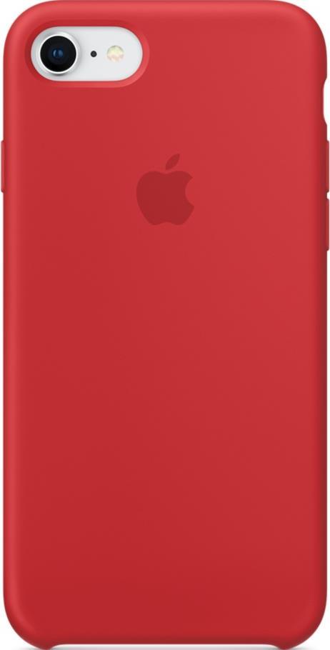Клип-кейс Apple iPhone 8/7 силиконовый Red математическая формула pattern мягкая обложка тонкий тпу резиновый силиконовый гель чехол для lenovo a328
