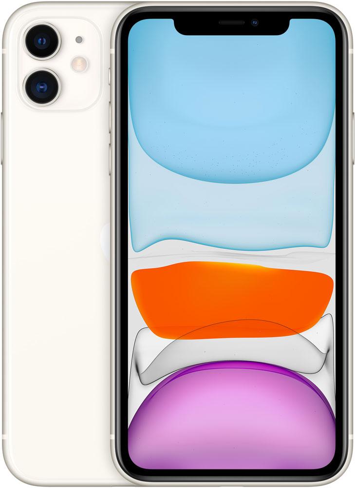 Смартфон Apple iPhone 11 256Gb Белый фото