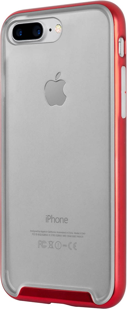 Фото - Клип-кейс Hardiz Defense для iPhone 8 Plus/7 Plus Red объектив