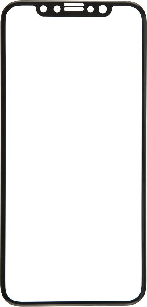 Стекло защитное RedLine для Phone X 3D Full Screen черная рамка