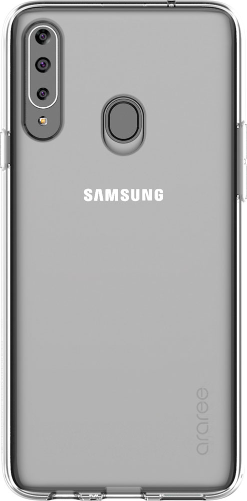 Клип-кейс Araree Galaxy A20s A cover прозрачный (GP-FPA207KDATR) фото