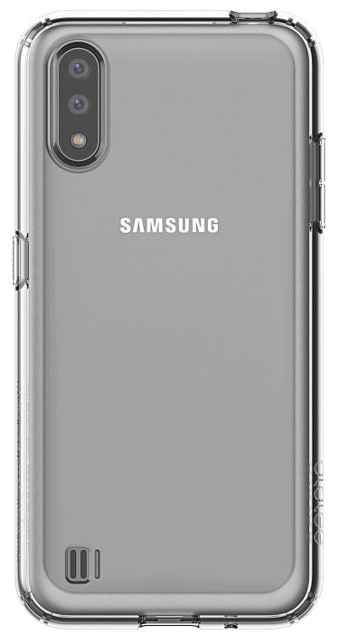 Клип-кейс Araree Samsung A01 прозрачный (GP-FPA015KDATR) фото