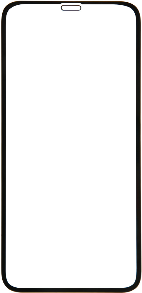 Стекло защитное RedLine для iPhone XR Full Screen Glue черная рамка