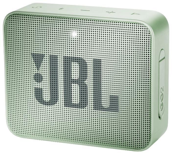 Портативная акустическая система JBL GO 2 Mint фото