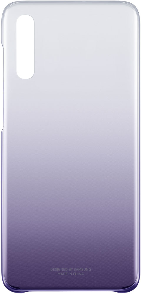 Фото - Клип-кейс Samsung A70 EF-AA705C Gradation Cover Purple чехол клип кейс samsung для samsung galaxy a20 gradation cover черный ef aa205cbegru
