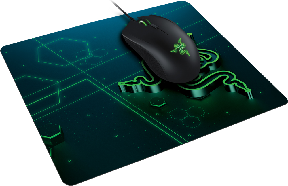Коврик Razer Goliathus Mobile Small игровой Black/Green фото 5