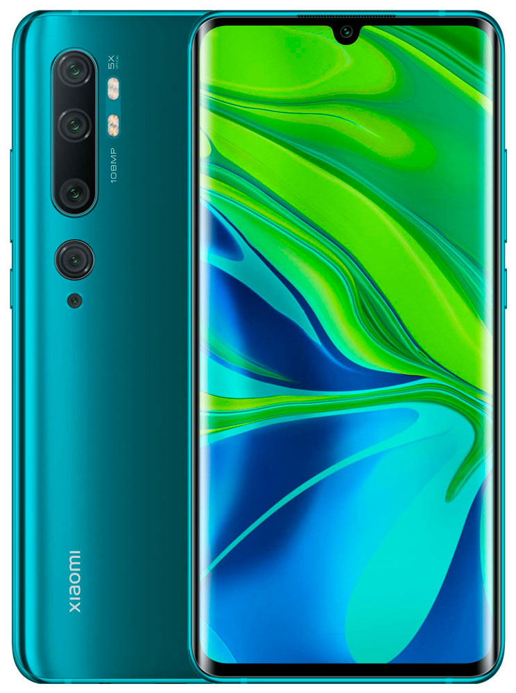 Смартфон Xiaomi Mi Note 10 6/128Gb Aurora Green фото