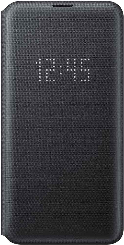 Чехол-книжка Samsung Galaxy S10e EF-NG970P LED View Black аксессуар чехол книжка samsung galaxy s9 led view cover black ef ng960pbegru