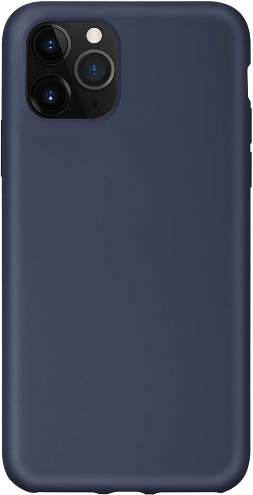 Клип-кейс Hardiz iPhone 11 Pro liquid силикон Navy blue фото