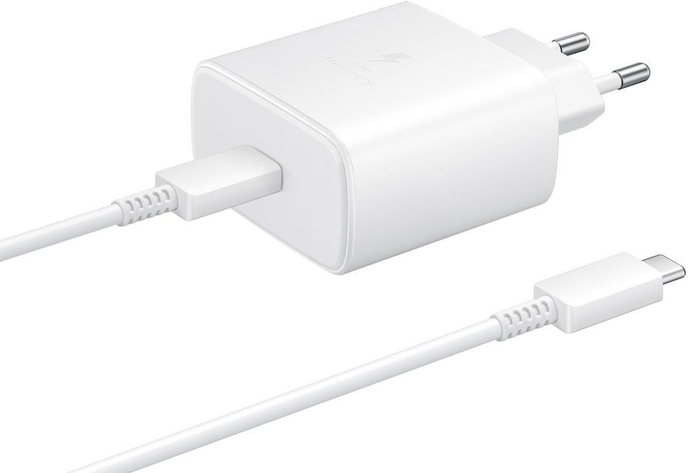 СЗУ Samsung, Type-C с функцией быстрой зарядки Power Delivery 45W White (EP-TA845XWEGRU), сзу, 0307-0488  - купить со скидкой