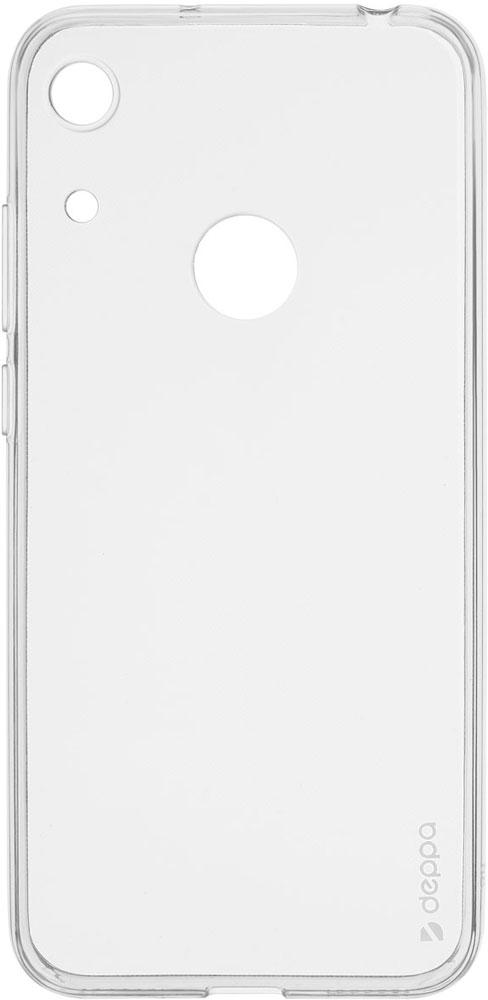 Клип-кейс Deppa Honor 8A прозрачный клип кейс deppa huawei y5 lite tpu прозрачный