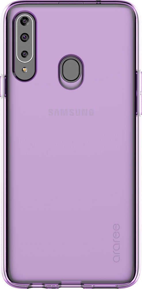 Клип-кейс Araree Galaxy A20s A cover Purple (GP-FPA207KDAER) фото