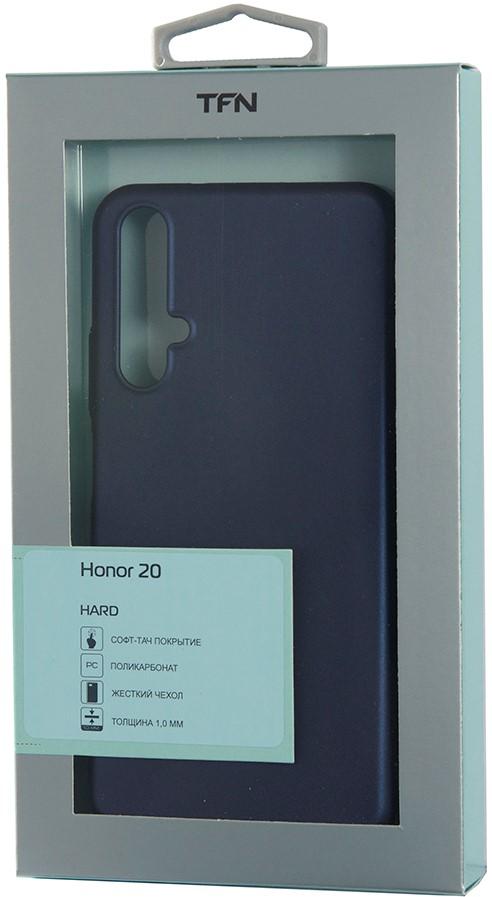 Клип-кейс TFN Honor 20/Huawei Nova 5T пластик Blue фото