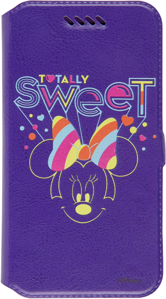 Чехол-книжка Disney универсальный до 5 принт №24 untamo essence чехол универсальный 4 5 5 0 black