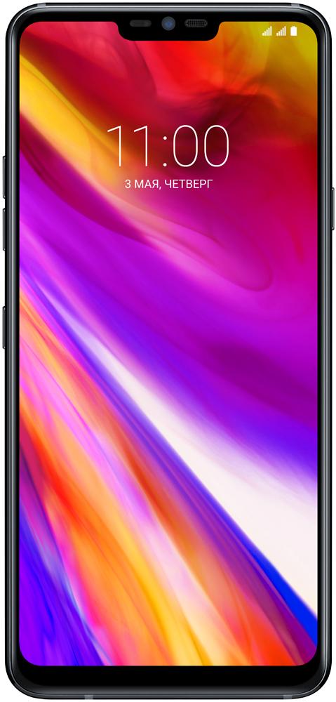 Смартфон LG G7 ThinQ 64Gb Aurora Black смартфон lg g7 thinq 64 гб черный g710emv
