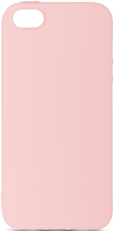 Клип-кейс DF, Apple iPhone 5/SE TPU Pink, клип-кейс, Силикон, 0313-6542  - купить со скидкой