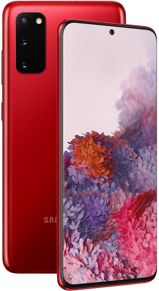 Смартфон Samsung G980 Galaxy S20 8/128Gb Red фото