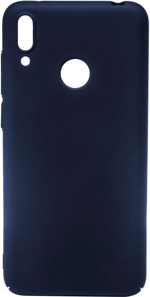 Клип-кейс MediaGadget Huawei Y6 2019 пластик Blue mediagadget mg257 универсальная 11
