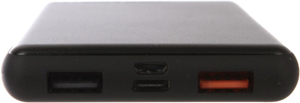 Внешний аккумулятор RedLine PDP-3А 10000 mAh+кабель Type-C c функцией Power Delivery Black аккумулятор rock type c power bank 5000 mah golden rmp0310