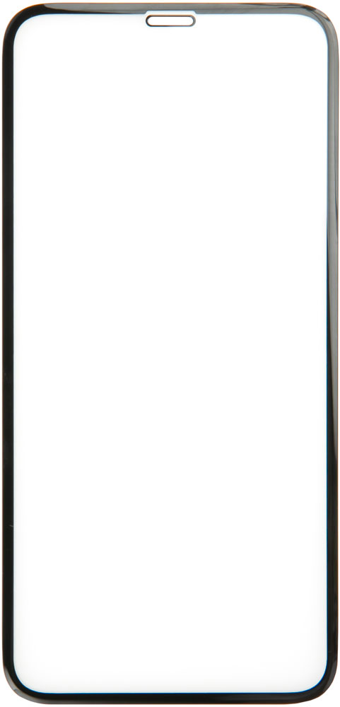 Стекло защитное RedLine iPhone 11 Pro Max 3D PMMA черная рамка стекло защитное redline iphone 11 pro 3d silicone frame черная рамка