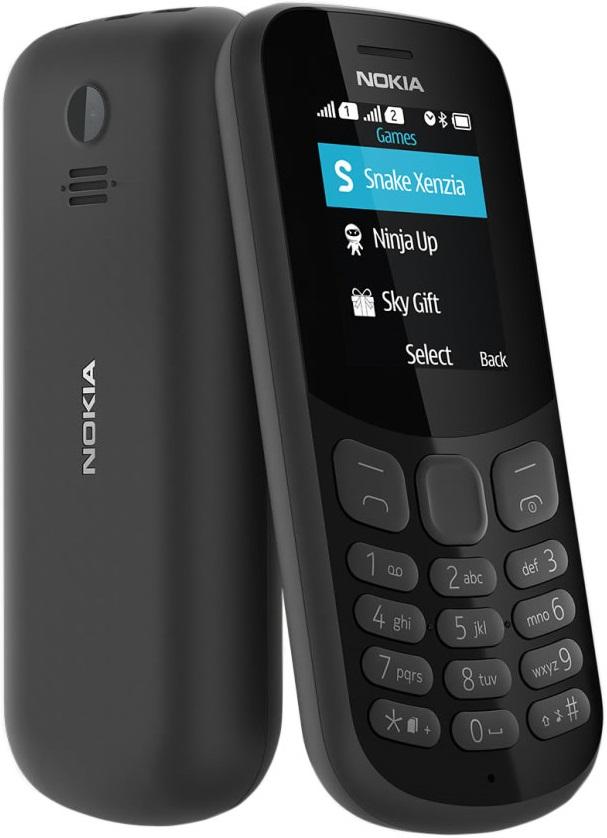 Мобильный телефон Nokia 130 2017 Dual sim Black все цены