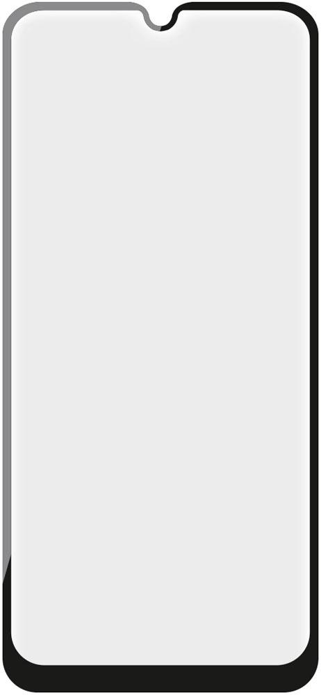 Стекло защитное Onext Samsung Galaxy A40 3D Full Glue черная рамка фото