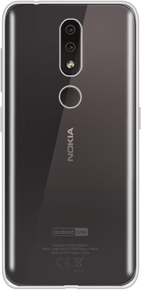все цены на Клип-кейс LuxCase Nokia 4.2 силикон прозрачный онлайн