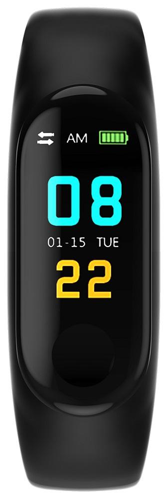 умный фитнес браслет zodikam tw64 2558 зеленый Фитнес-браслет Smarterra Fitmaster Color Black