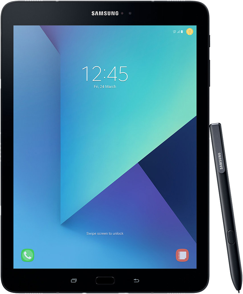 Планшет Samsung Galaxy Tab S3 9.7 SM-T825N 32Gb LTE Black (SM-T825NZKASER) графический планшет wacom intuos draw pen s white ctl 490dw n