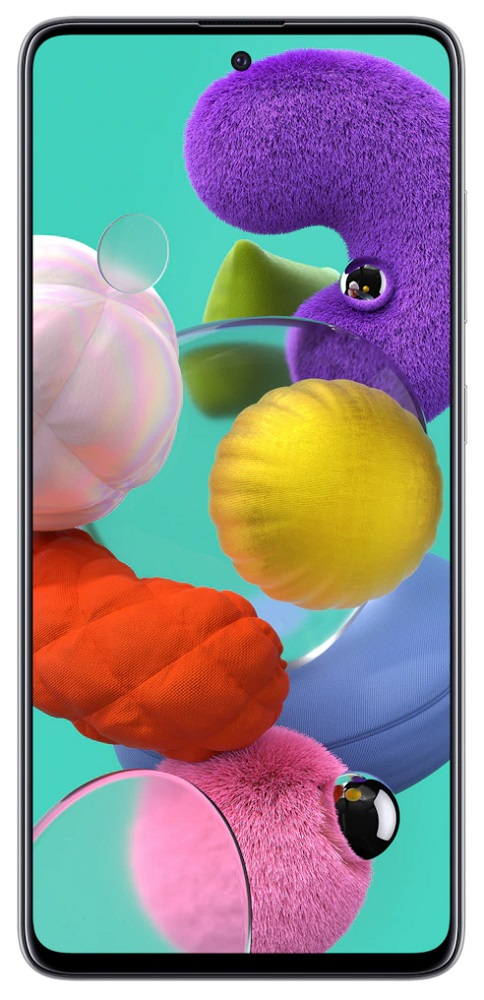 Смартфон Samsung A515 Galaxy A51 6/128Gb White фото