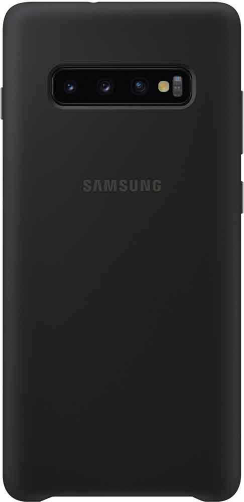 Клип-кейс Samsung Galaxy S10 Plus TPU EF-PG975TBEGRU Black клип кейс uniq samsung galaxy s10 plus black