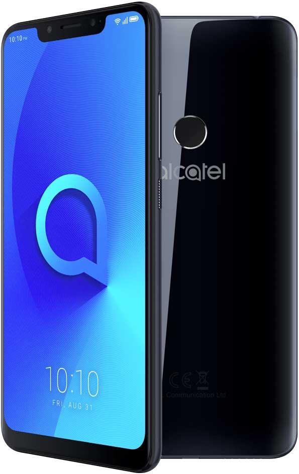Смартфон Alcatel 5V 5060D 32Gb Black гарнитура alcatel wh55 black