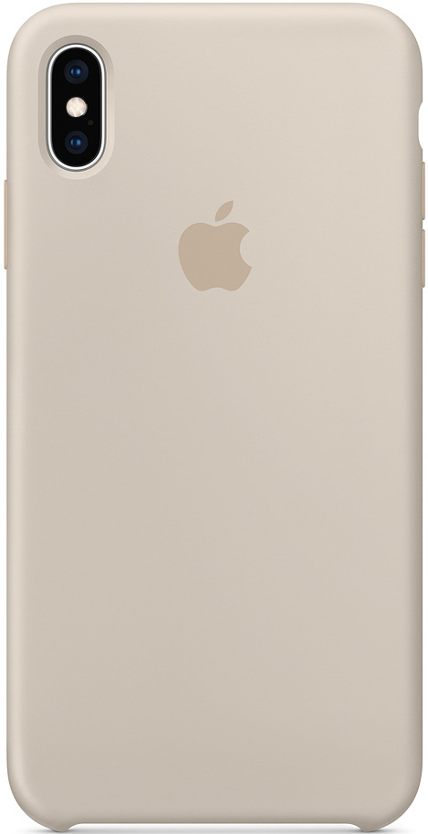 Клип-кейс Apple iPhone XS Max силиконовый MRWJ2ZM/A Grey