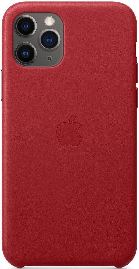 Клип-кейс Apple iPhone 11 Pro MWYF2ZM/A кожаный Красный фото