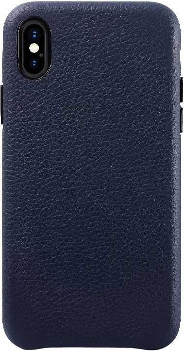 Клип-кейс Hardiz Apple iPhone X кожа Blue фото