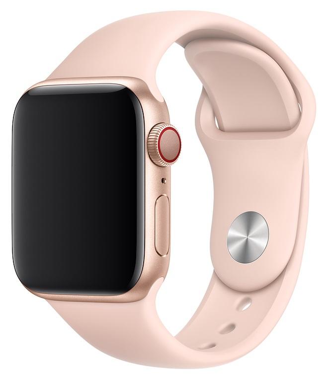 Ремешок для умных часов Everstone ES-AWBS-106 Apple Watch 38/40мм силиконовый Pink фото