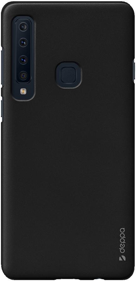 Клип-кейс Deppa Samsung Galaxy A9 2018 пластик Black клип кейс deppa samsung galaxy a9 2018 tpu прозрачный