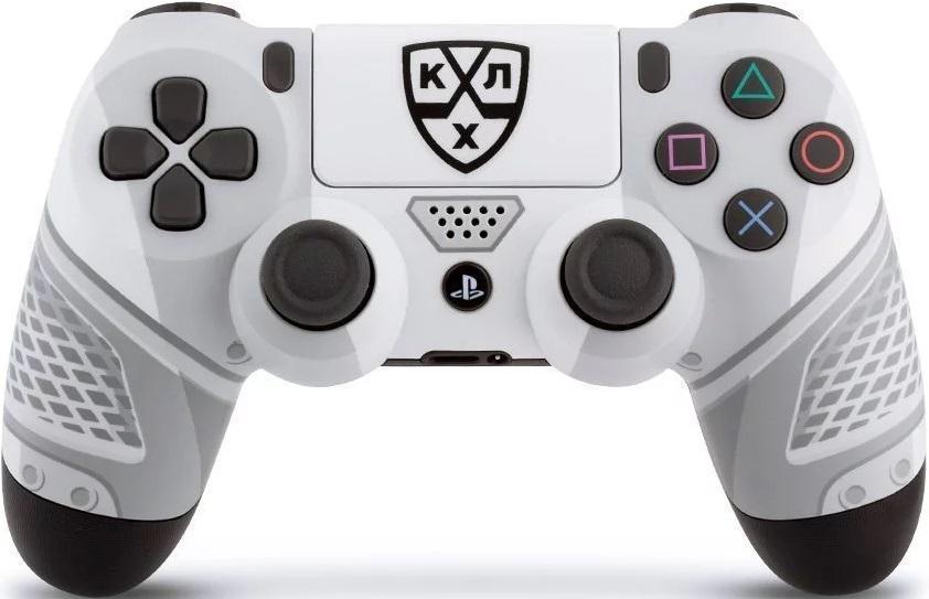 Кастомизированный беспроводной контроллер Rainbo DualShock 4 КХЛ Все хоккей