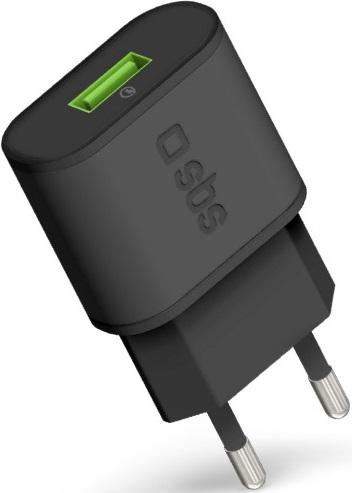 СЗУ SBS универсальное c поддержкой Qualcomm Quick Charge 3.0 Black