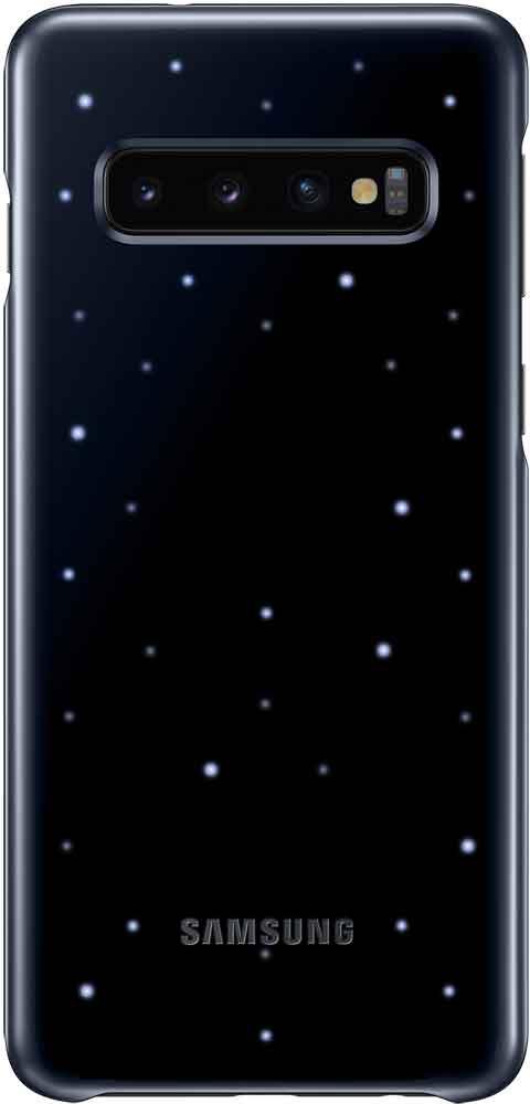 Клип-кейс Samsung Galaxy S10 LED EF-KG973C Black клип кейс itskins samsung galaxy s10 black