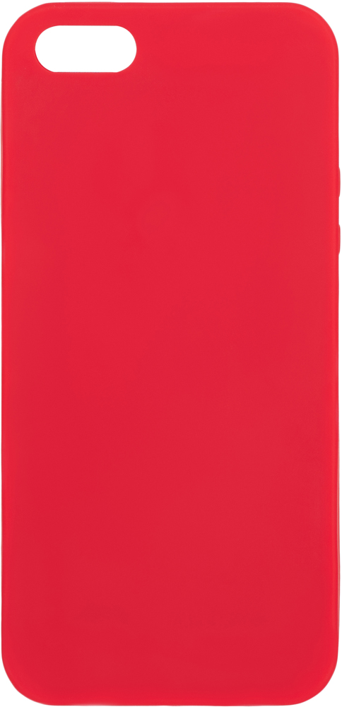 Клип-кейс Deppa Apple iPhone 5/SE TPU Red клип кейс gresso apple iphone 5 se tpu black