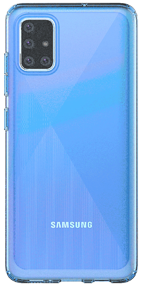 Клип-кейс Samsung Galaxy A51 Blue (GP-FPA515KDALR)