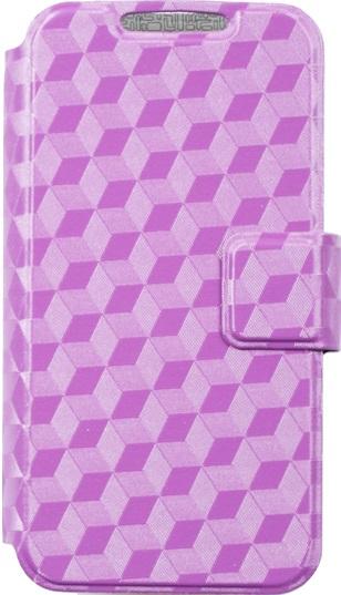 цена на Чехол-книжка OxyFashion SlideUP Cube универсальный размер S 3,5-4,3 purple
