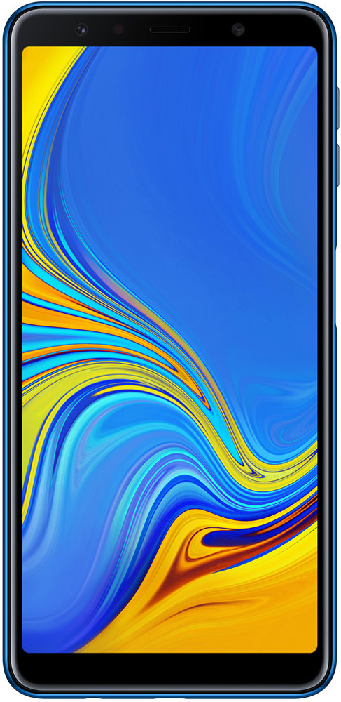 Смартфон Samsung A750 Galaxy A7 (2018 Edition) 64Gb Blue