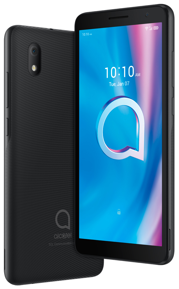 Смартфон Alcatel 1B 5002D 2/16Gb Prime black смартфон alcatel 1b 5002d 2 16gb blue