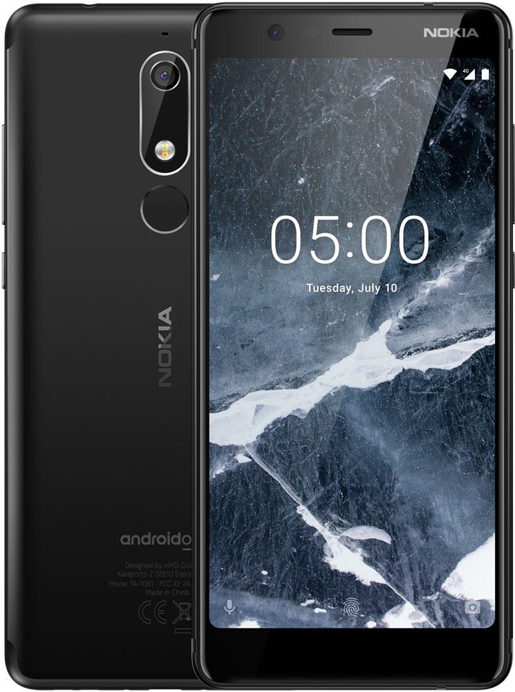 Смартфон Nokia 5.1 16Gb Black смартфон nokia 5 1 16gb black