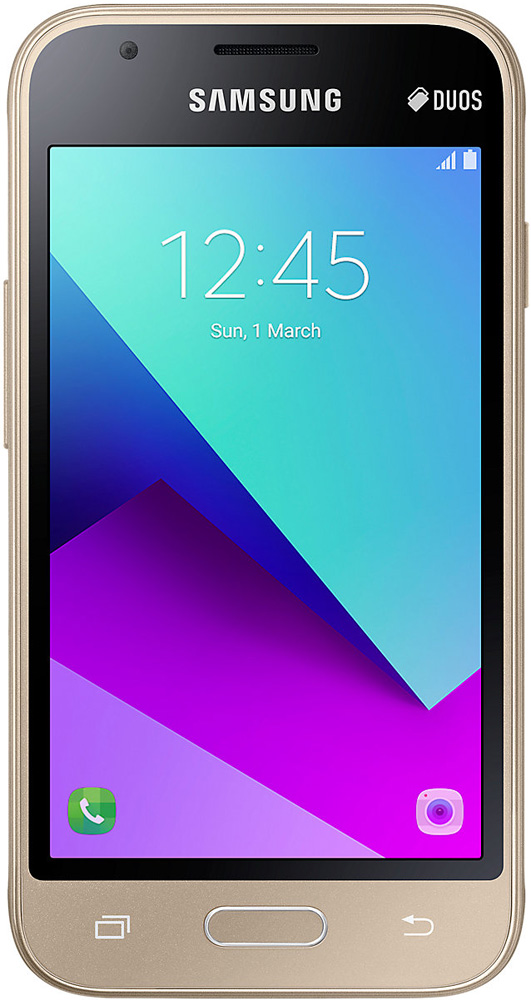 Смартфон Samsung Galaxy J1 mini Prime (2016) Gold смартфон samsung galaxy a5 2016 4g 16gb white