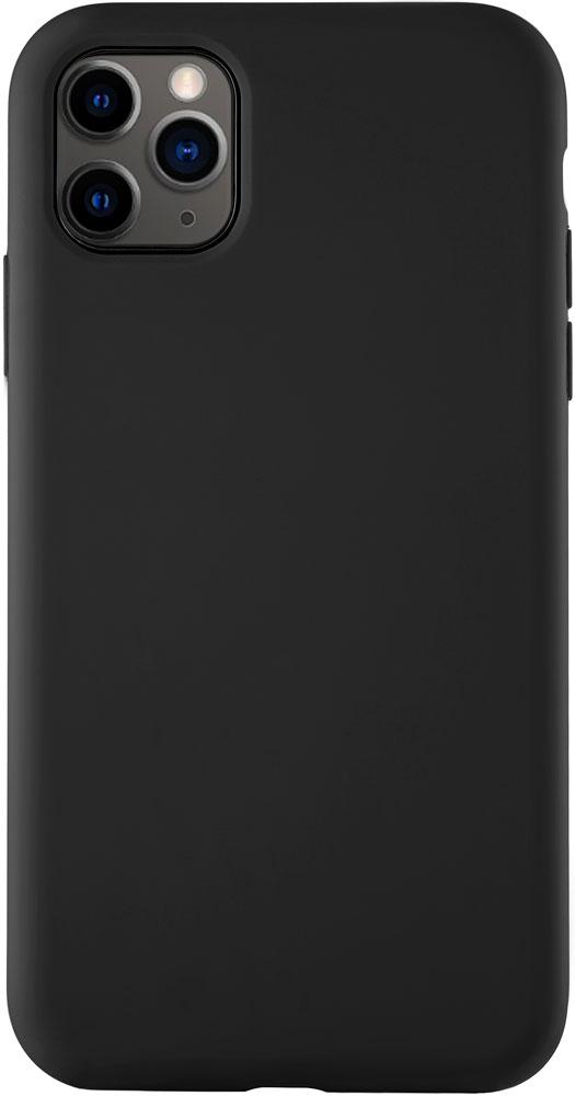 Клип-кейс uBear iPhone 11 Pro Max liquid силикон Black фото