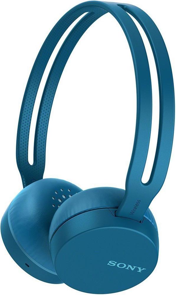 Беспроводные наушники с микрофоном Sony WH-CH400L Blue фото